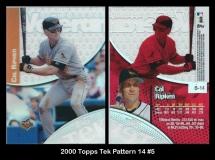 2000 Topps Tek Pattern 14 #5