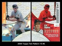 2000 Topps Tek Pattern 15 #5