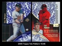 2000 Topps Tek Pattern 16 #5