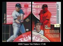 2000 Topps Tek Pattern 17 #5