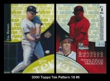 2000 Topps Tek Pattern 18 #5