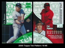 2000 Topps Tek Pattern 19 #5