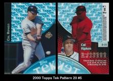 2000 Topps Tek Pattern 20 #5