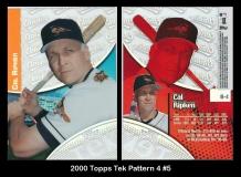 2000 Topps Tek Pattern 4 #5