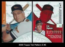 2000 Topps Tek Pattern 5 #5