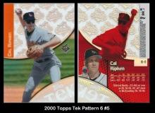 2000 Topps Tek Pattern 6 #5