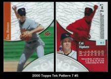 2000 Topps Tek Pattern 7 #5