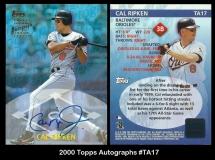 2000 Topps Autographs #TA17