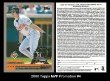 2000 Topps MVP Promotion #4