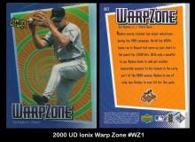 2000 UD Ionix Warp Zone #WZ1