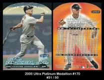 2000 Ultra Platinum Medallion #170