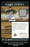 2000 Upper Deck eVolve Game Jersey Autograph #eSJ3