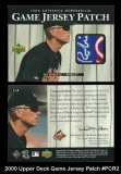 2000 Upper Deck Game Jersey Patch #PCR2