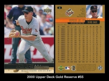 2000 Upper Deck Gold Reserve #55