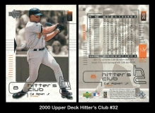 2000 Upper Deck Hitters Club #32