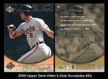 2000 Upper Deck Hitters Club Accolades #A5