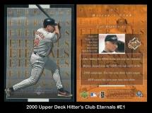 2000 Upper Deck Hitters Club Eternals #E1