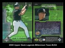 2000 Upper Deck Legends Millennium Team #UD4