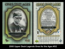 2000 Upper Deck Legends Ones for the Ages #O2
