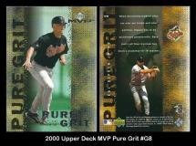 2000 Upper Deck MVP Pure Grit #G8