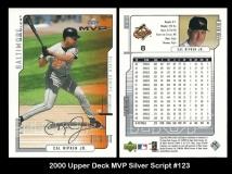 2000 Upper Deck MVP Silver Script #123