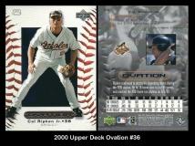 2000 Upper Deck Ovation #36