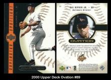 2000 Upper Deck Ovation #89