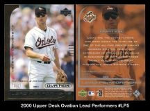 2000 Upper Deck Ovation Lead Perfomers #LP5