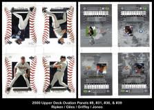 2000-Upper-Deck-Ovations-Panels-8-31-36-39