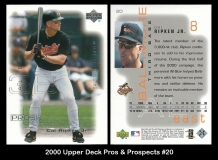 2000 Upper Deck Pros and Prospects #20