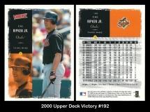 2000 Upper Deck Victory #192