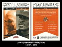 2000 Upper Deck Victory #202