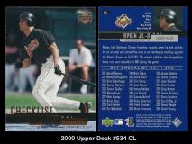 2000 Upper Deck #534 CL