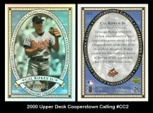 2000 Upper Deck Cooperstown Calling #CC2