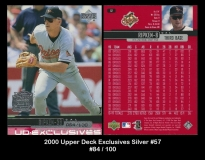 2000 Upper Deck Excluives Silver #57