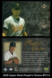 2000 Upper Deck Peoples Choice #PC14