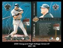 2000 Vanguard High Voltage Green #7