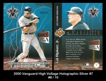 2000 Vanguard High Voltage Holographic Silver #7