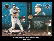 2000 Vanguard High Voltage Red #7