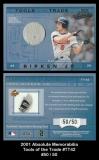 2001 Absolute Memorabilia Tools of the Trade #TT42