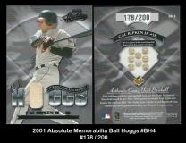 2001 Absolute Memorabilia Ball Hoggs #BH4