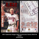 2001-Authentic-Images-2632-Consecutive-Games-S42-08