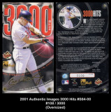 2001-Authentic-Images-3000-Hits-S84-0