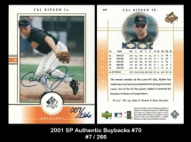 2001 SP Authentic Buybacks #70
