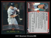 2001 Bowman Chrome #96