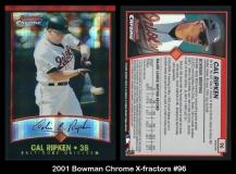 2001 Bowman Chrome X-Fractors #96