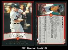 2001 Bowman Gold #122