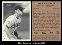 2001 Bowman Heritage #367