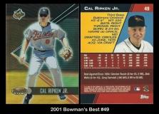 2001 Bowman's Best #49