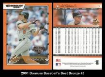 2001 Donruss Baseball's Best Bronze #3